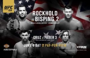 UFC 199 live stream free: UK TV, times & channel - Rockhold vs Bisping which TV-channel & time UK TV?
