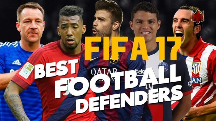 Top 10 best defenders in Fifa 17