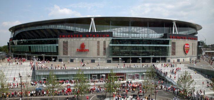 Most profitable stadiums in Europe Emirates