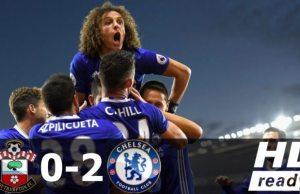 Southampton 0-2 Chelsea Video Highlights - Watch Eden Hazard & Diego Costa Goals!