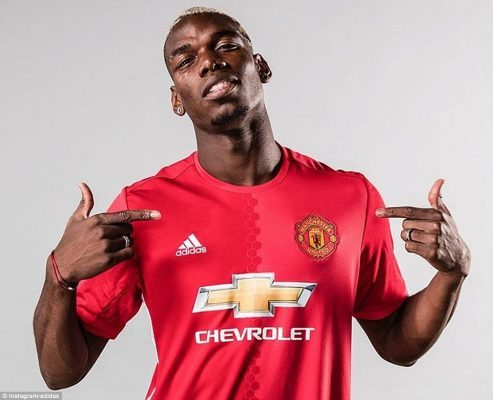 Paul Pogba is the highest paid footballer in England