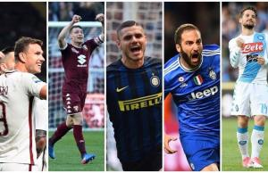 Serie A Past Golden Boot Winners - All Time