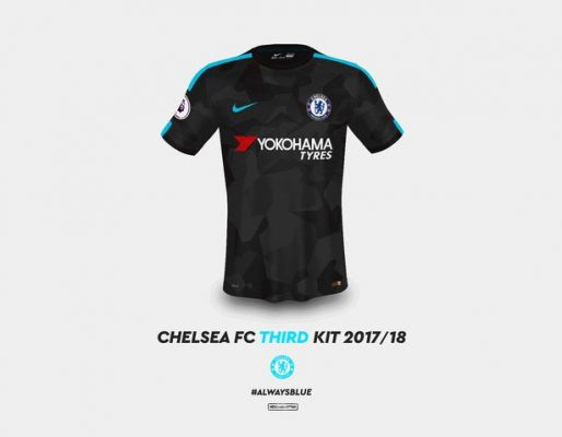 Chelsea's kits for the 2017/18 season