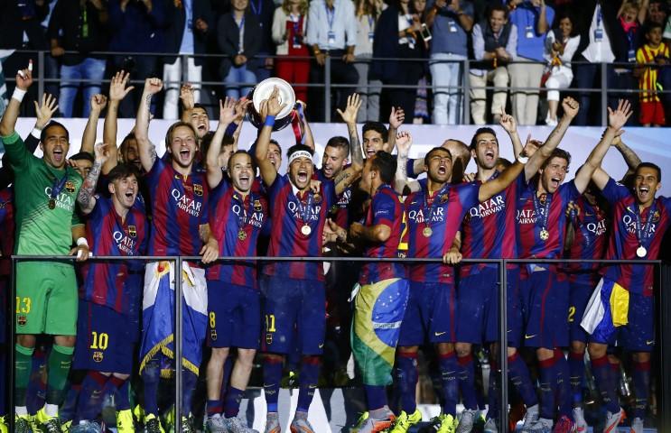 Barcelona 5 time Champions League winner