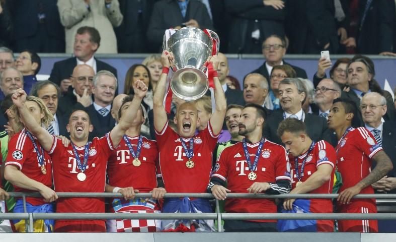 Bayern Munich 5 time Champions League winner