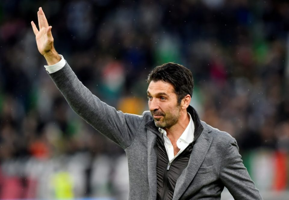 Champions League winner buffon