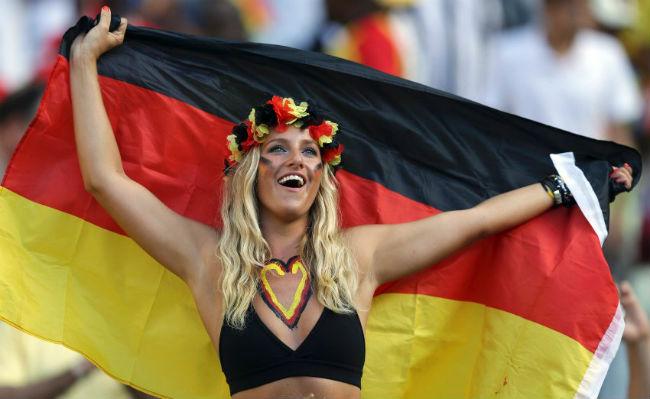 German hot fans World Cup 2014-2018 hottest fans World Cup hottest German female fans