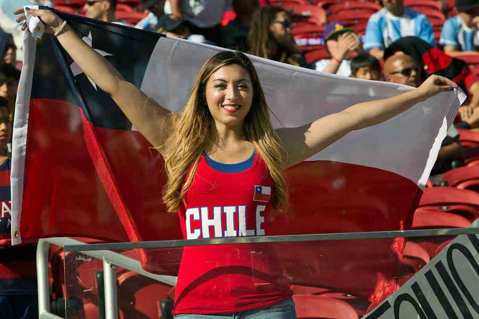 Countries With The Hottest Female Football Fans Chile