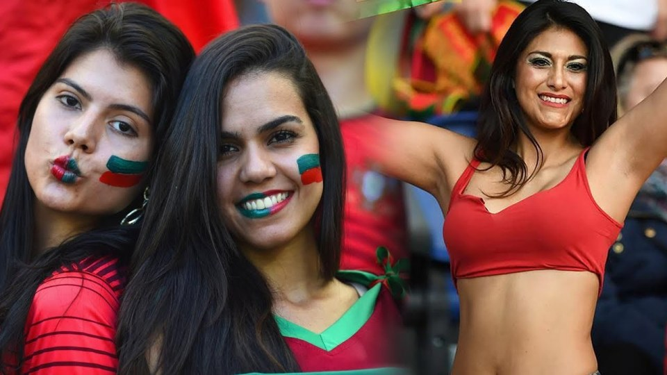 Images, Pictures and Photos of Beautiful, Sexy and Hot Portuguese girls - Portugal Female Fans In World Cup 2018