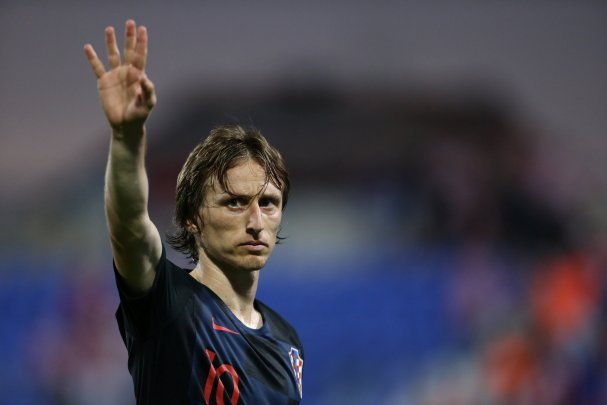 Luka Modric Croatia squad World Cup 2018