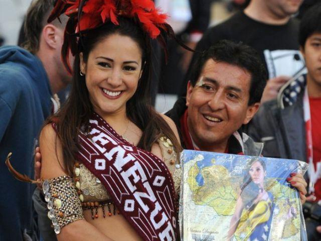 Top hottest fans World Cup 2014-2018 Venezuela hot female fans World Cup