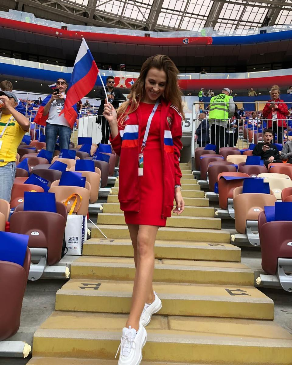 Veronika Erokhina Russia hot Wives and girlfriends World Cup