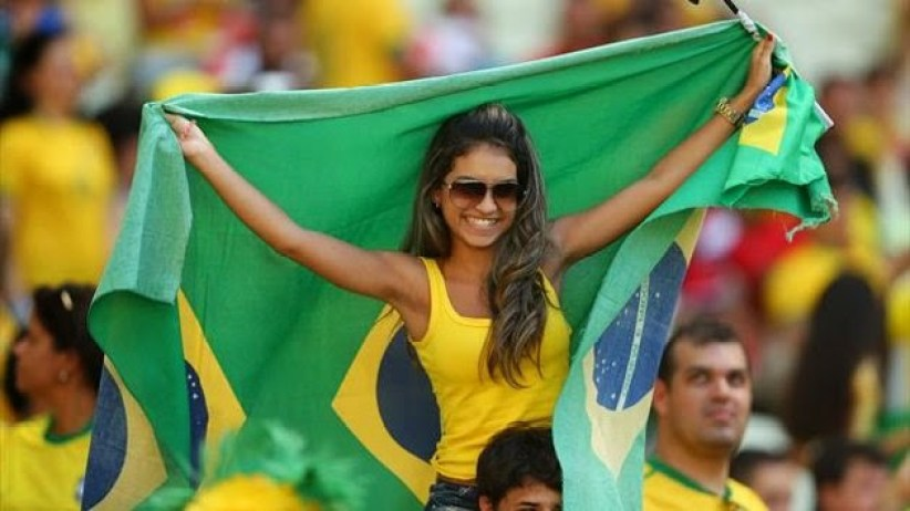 World Cup Teams With The sexiest Football Fans Brazilian hot fans Brazil World Cup hot girls