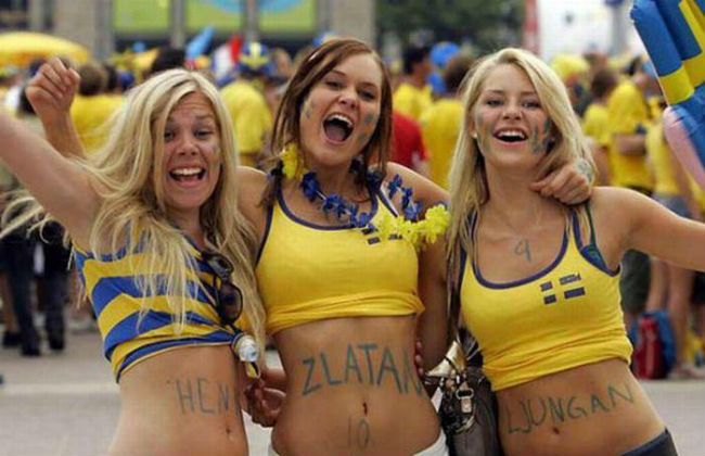 ans World Cup 2014-2018 hottest fans World Cup Sweden