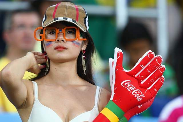hottest Russian female fans World Cup 2014-2018