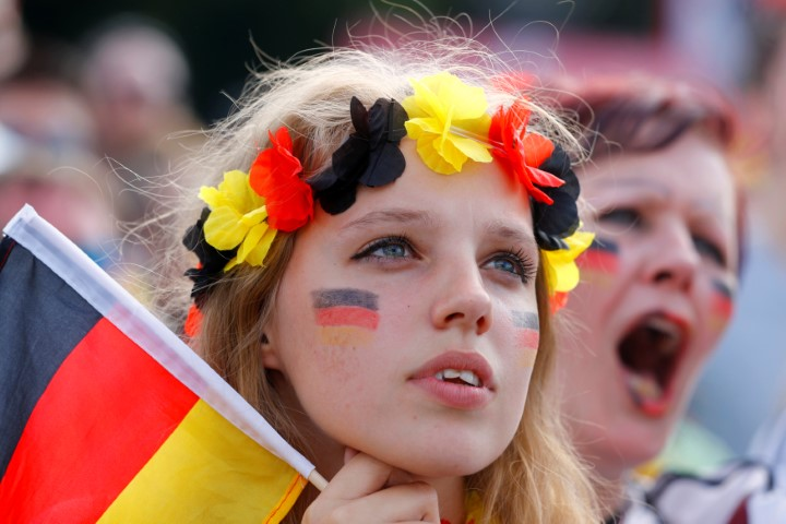 most gorgeous soccer fans Germany