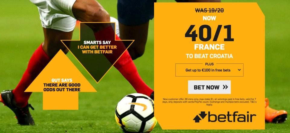 France vs Croatia live stream free predictions, betting odds, Head-to-Head.