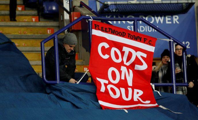 Fleetwood Town fans