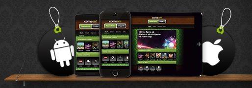 Comeon mobile app