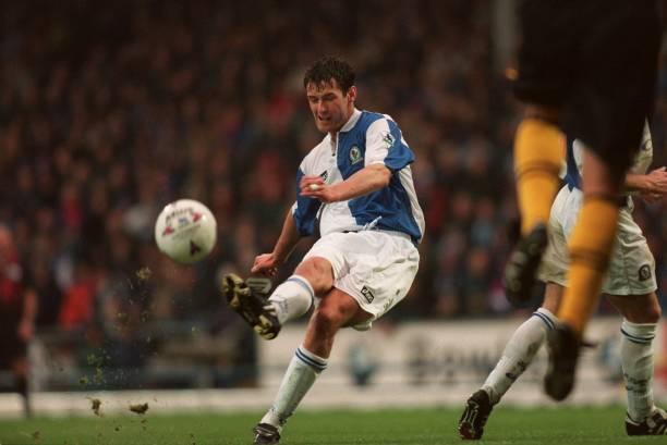 Fastest goal in the Premier League - Chris Sutton- Everton 1-2 Blackburn- 1995-04-01
