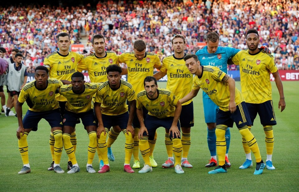 Arsenal Squad, Team, All Players 2019/20