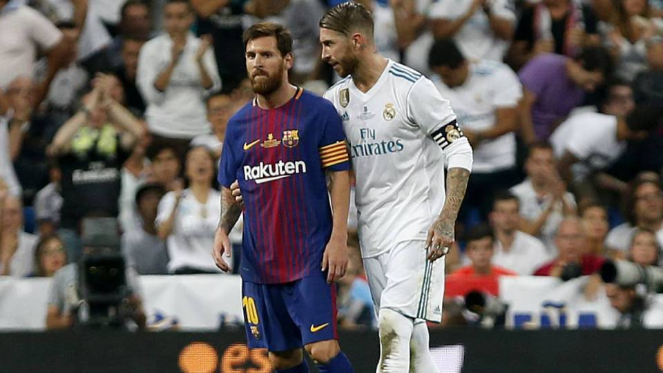 Most El Clasico Appearances Lionel Messi & Sergio Ramos are on the list!