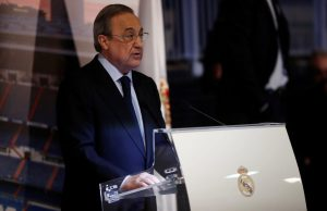 Florentino Perez Announces Santiago Bernabeu Renovation Plan