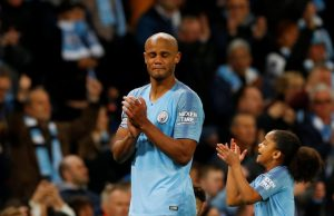 Guardiola's mysterious reaction to Kompany's future at the club