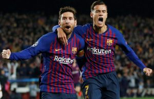 Lionel Messi Comes Out In Defence Of Philippe Coutinho After Nou Camp Jeering