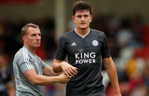 Maguire no closer to leaving Leicester: Rodgers