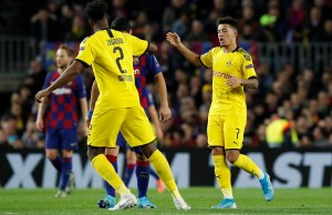 Jadon Sancho Benched Against Barcelona Because He Lacked Focus