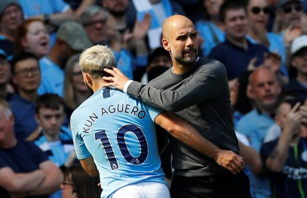 Guardiola praises record-breaking Aguero