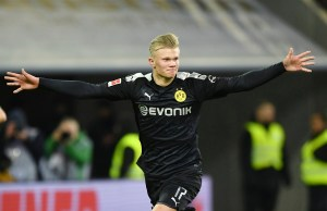 Borussia Dortmund on-fire striker Erling Haaland finds inspiration in Kylian Mbappe