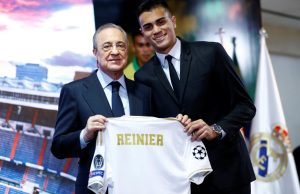 Real Madrid unveil new January arrival Reinier Jesus - OFFICIAL