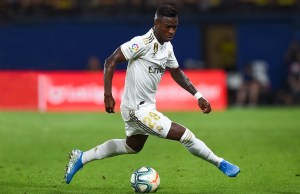 Vinicius Hails Eden Hazard After Playing Alongside Him For The First Time