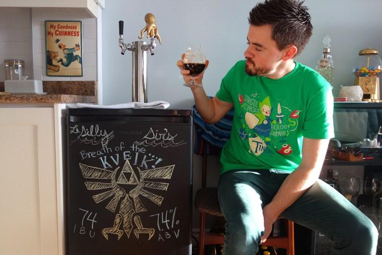 Kveik Beer - Zelda: Breath of the Kveik