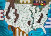 USA War Zone Map