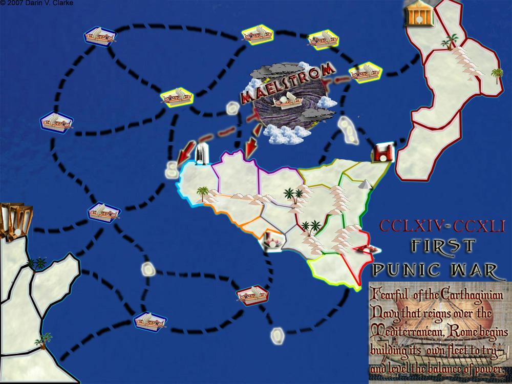 Rbl First Punic War Map