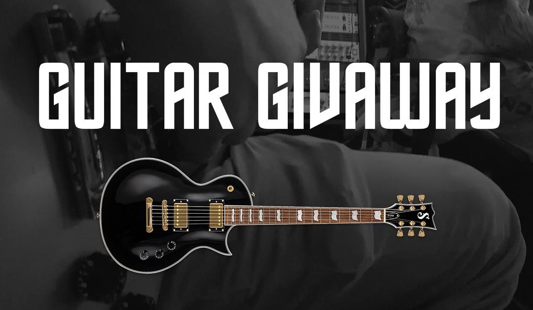 New Guitar Giveaway – ESP EC-256