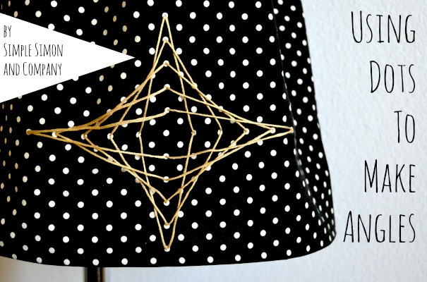 Lines and Angles skirt
