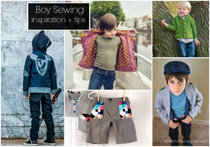 boy sewing inspiration and tips