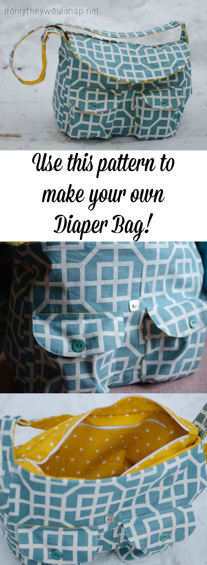 Make your own diaper bag