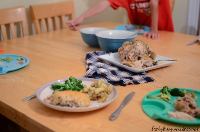 easy family dinner ideas