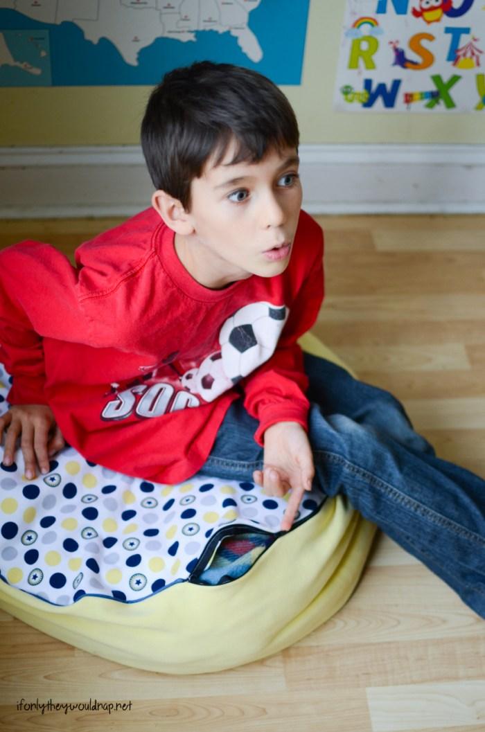 Floor cushion tutorial