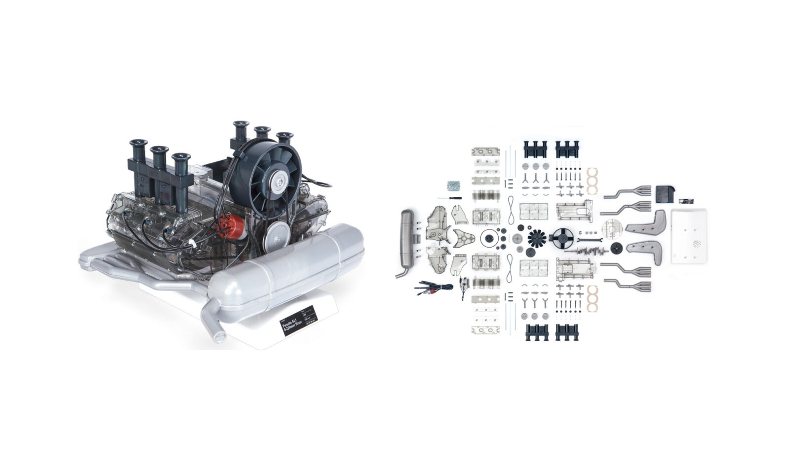 Porsche Flat 6 Engine 1 4 Scale Model
