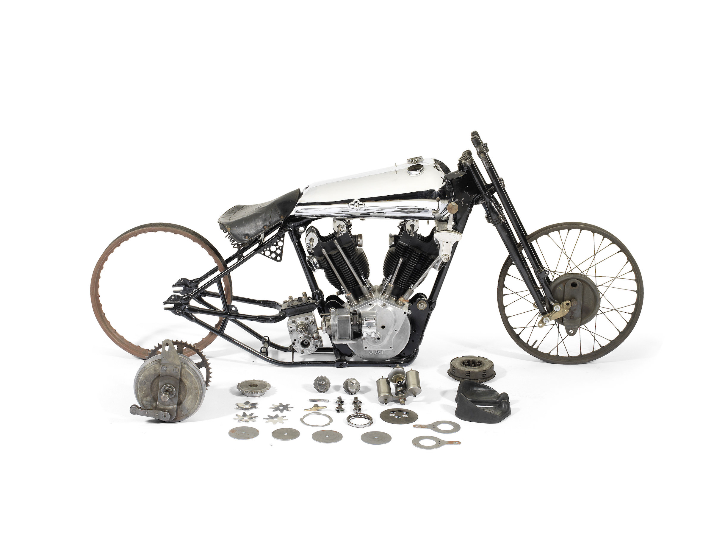 100 000 Project Bike Brough Superior Ss100 Pendine