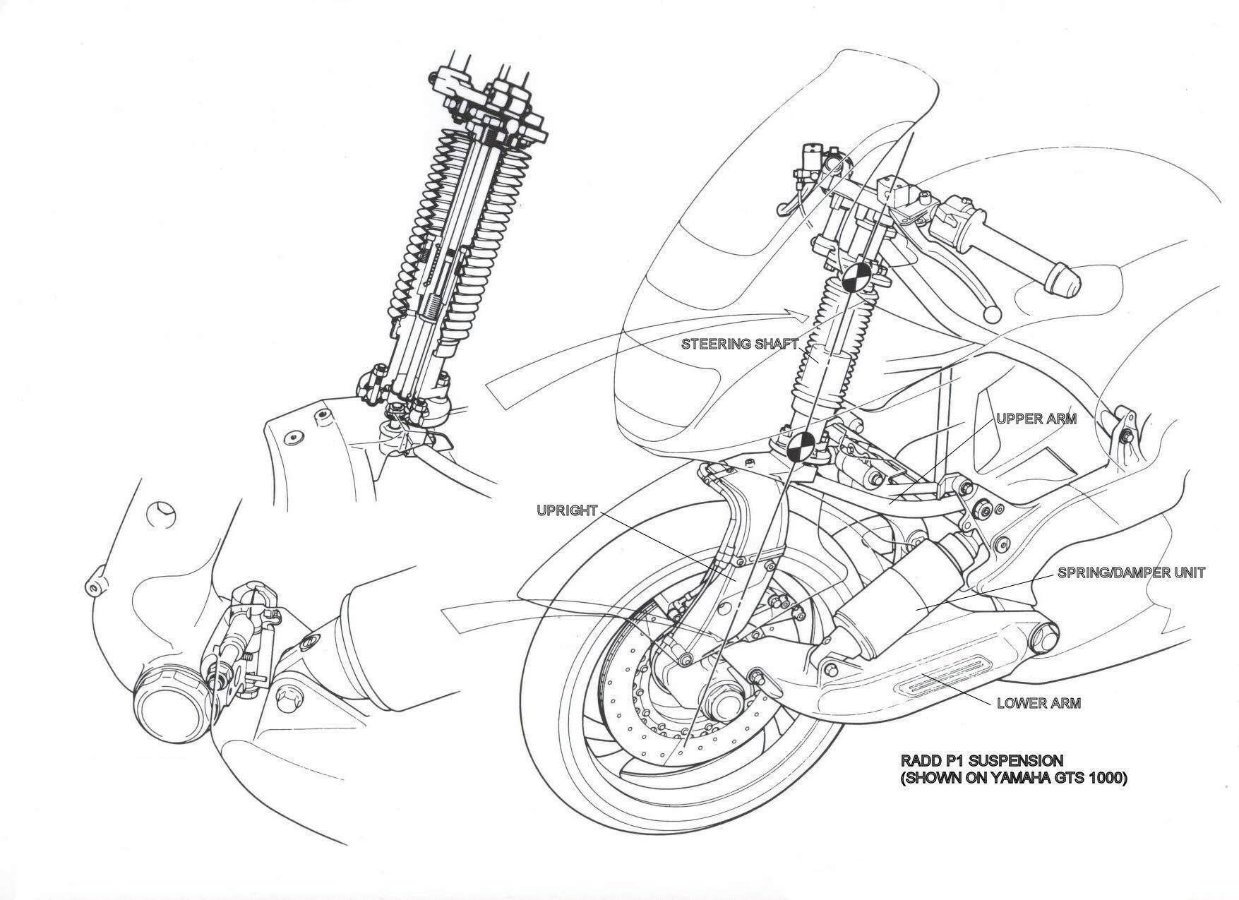 The Jsk Moto Co Custom Yamaha Gts Project Rhodium