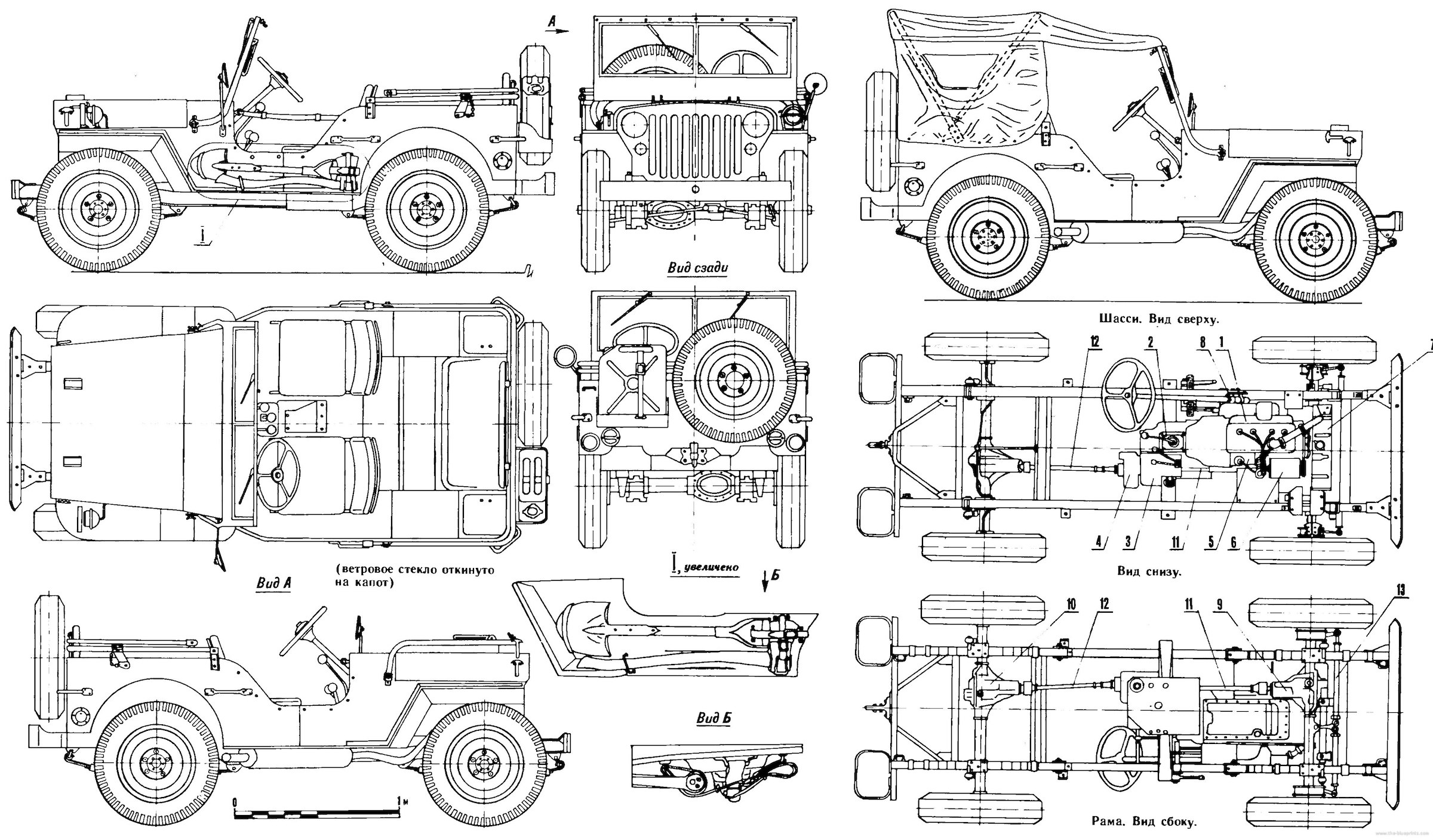Willy Jeep Wiring Diagram