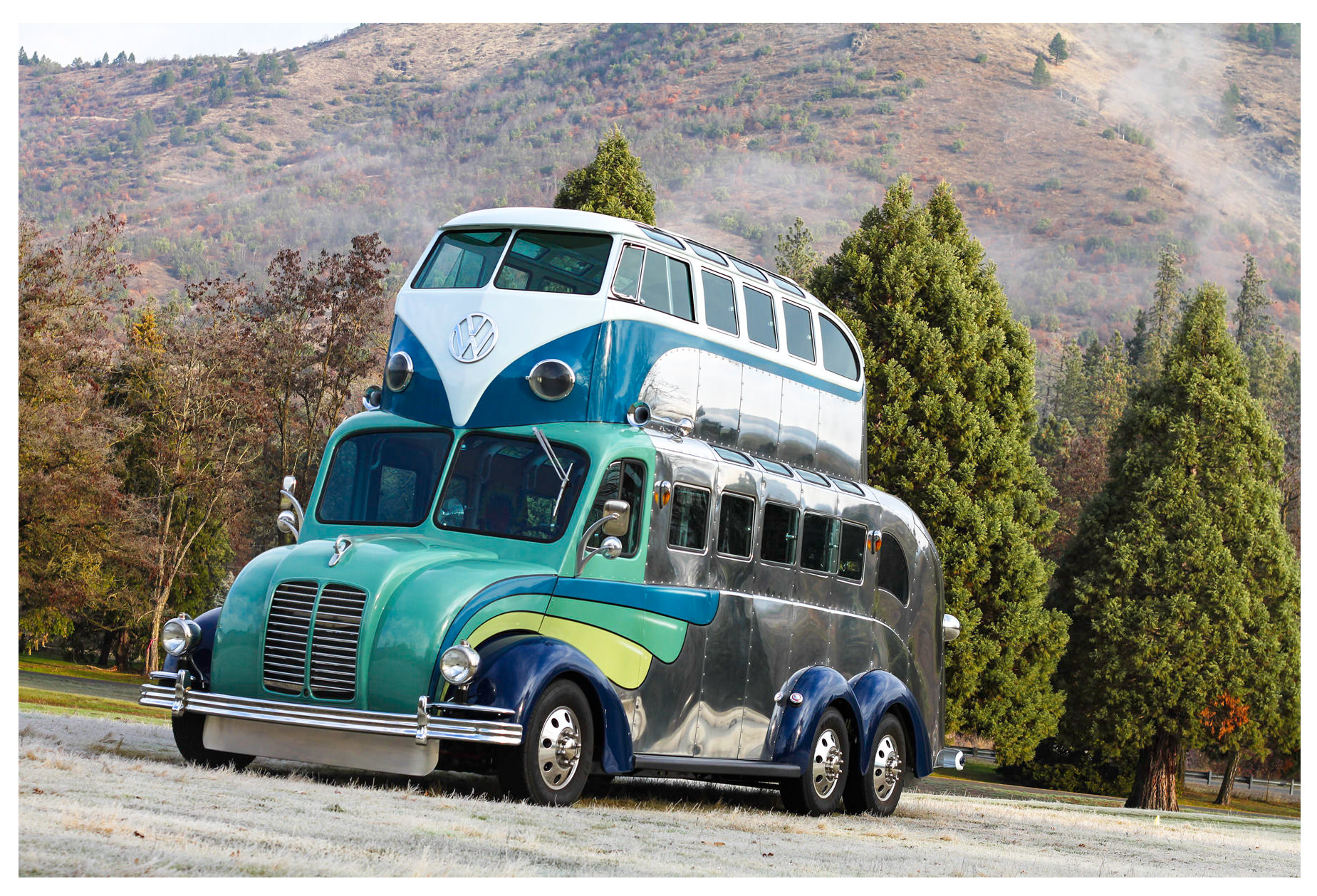 Randy Grubb S Latest Creation The Magic Bus