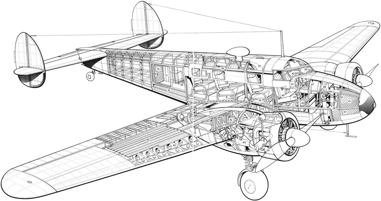 A Comprehensively Restored Lockheed Model 12